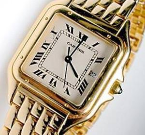 Cartier Gold Watch